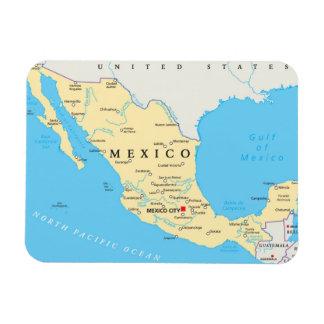 メキシコの政治地図 マグネット