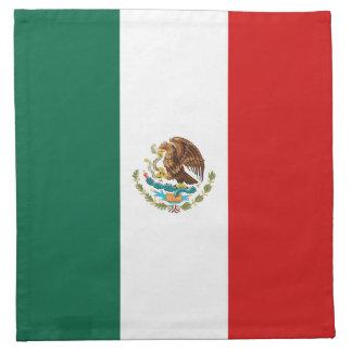 メキシコの旗のナプキン ナプキンクロス