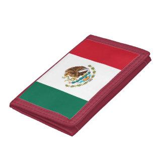 メキシコの旗の札入れ