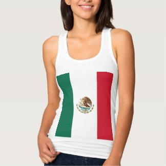 メキシコの旗 タンクトップ