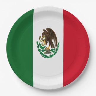 メキシコの旗 ペーパープレート