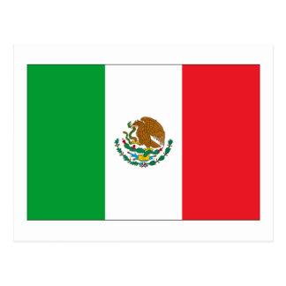 メキシコの旗 ポストカード