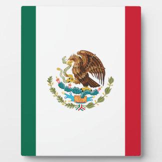 メキシコの旗-メキシコ旗- Bandera de Mexicoo フォトプラーク