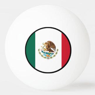 メキシコの旗 卓球ボール