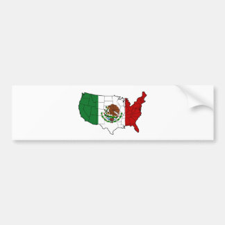 メキシコの米国 バンパーステッカー