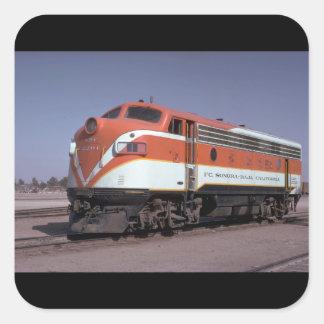 メキシコのFcのソノラ-のBaja California_Trains スクエアシール
