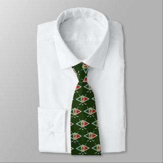 メキシコアイスホッケーの旗のタイ オリジナルネクタイ
