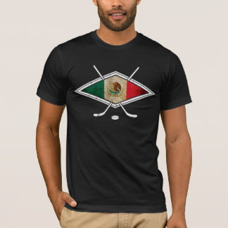 メキシコアイスホッケーの旗 Tシャツ