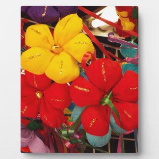 メキシコクレープ花 フォトプラーク
