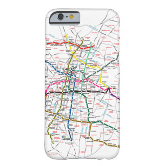 メキシコシティの地下鉄の地図 BARELY THERE iPhone 6 ケース