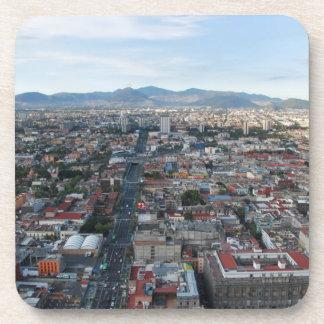 メキシコシティ、北に見る空中写真 コースター