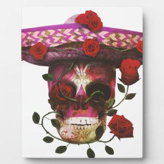 メキシコスカルのバラ フォトプラーク