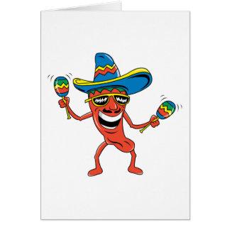 メキシコチリペッパー カード