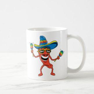 メキシコチリペッパー コーヒーマグカップ