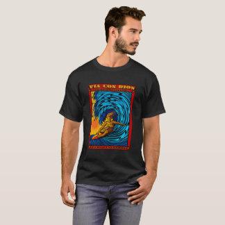 メキシコパイプラインSURFINGPUERTO ESCONDITOメキシコ Tシャツ