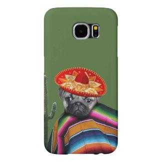 メキシコパグ犬のSamsungの銀河系S6の箱 Samsung Galaxy S6 ケース
