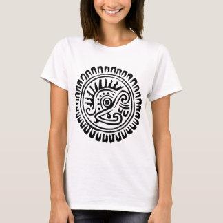 メキシコヒエログリフ(マヤ) Tシャツ