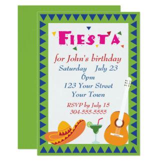 メキシコフェスタのパーティー カード