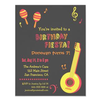 メキシコフェスタの子供の誕生日のパーティの招待状 カード