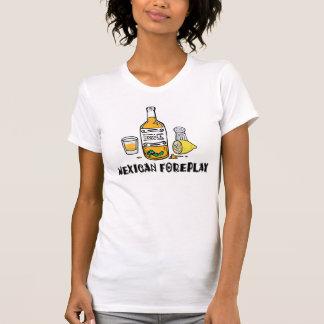 メキシコフォアプレーのおもしろいなメキシコ女性 Tシャツ