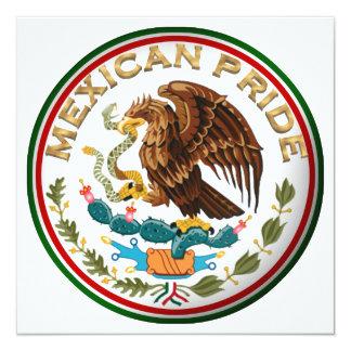 メキシコプライド(メキシコ旗からのワシ) カード