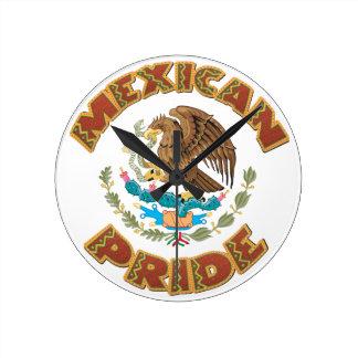 メキシコプライド ラウンド壁時計