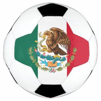 メキシコプライドFutbol: メキシコの旗及び紋章付き外衣 サッカーボール