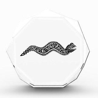 メキシコヘビ 表彰盾