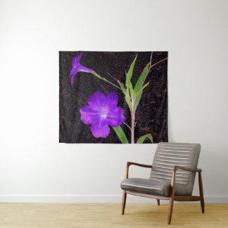 メキシコペチュニアの紫色 タペストリー