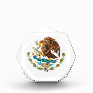 メキシコワシおよびヘビ 表彰盾