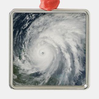 メキシコ上のハリケーンWilma メタルオーナメント
