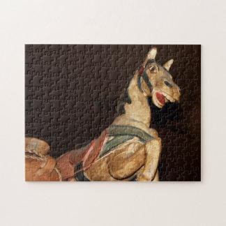 メキシコ人のRestauntのパズルの馬そして他の装飾 ジグソーパズル