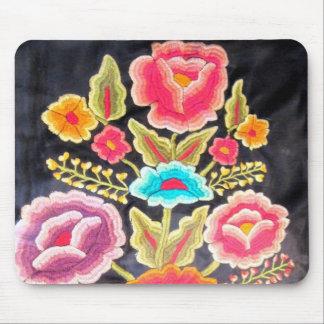メキシコ刺繍のデザイン マウスパッド