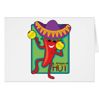 メキシコ唐辛子 カード