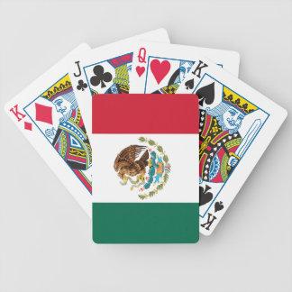 メキシコ国旗-確実な高品質 バイスクルトランプ