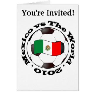 メキシコ対世界2010年 カード