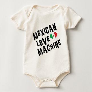 メキシコ愛機械ベビー ベビーボディスーツ