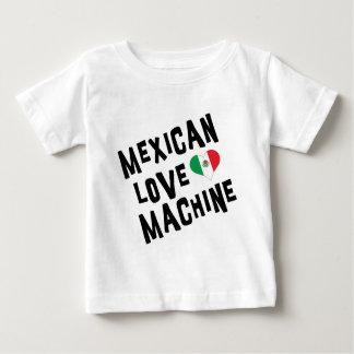 メキシコ愛機械ベビー ベビーTシャツ