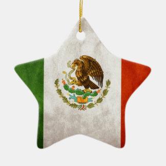 メキシコ旗のデザイン セラミックオーナメント
