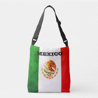 メキシコ旗のトートバック クロスボディバッグ