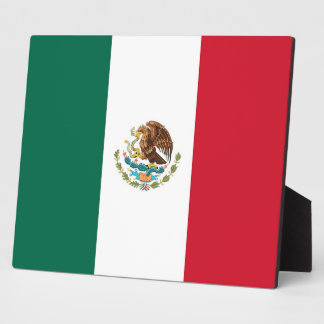メキシコ旗のプラク フォトプラーク
