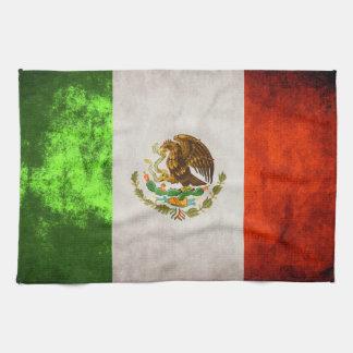 """メキシコ旗タオル16"""" x 24"""" キッチンタオル"""