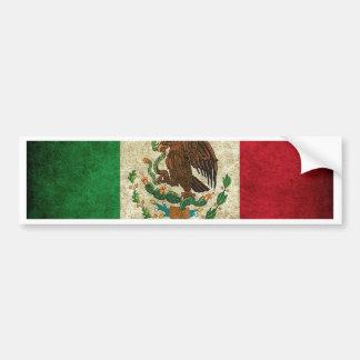 メキシコ旗 バンパーステッカー