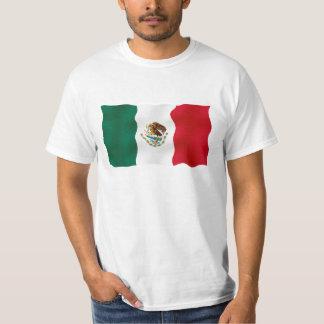 メキシコ旗-価値Tシャツ Tシャツ