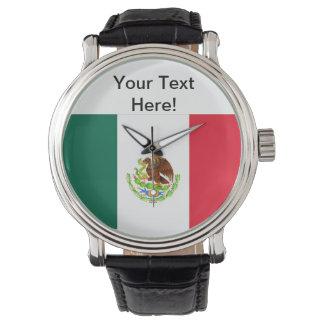 メキシコ旗 腕時計