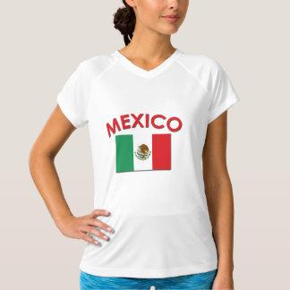 メキシコ旗(赤い) Tシャツ