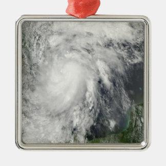 メキシコ湾の熱帯嵐Hermine メタルオーナメント