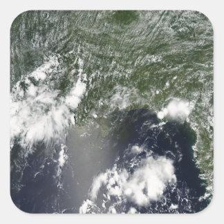 メキシコ湾の衛星眺め スクエアシール
