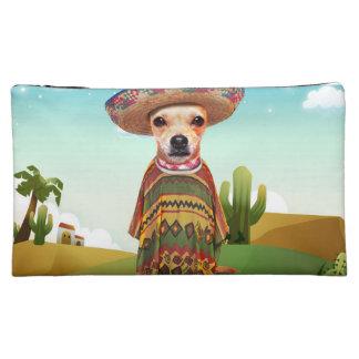 メキシコ犬、チワワ コスメティックバッグ