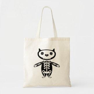 メキシコ猫の骨組バッグ トートバッグ
